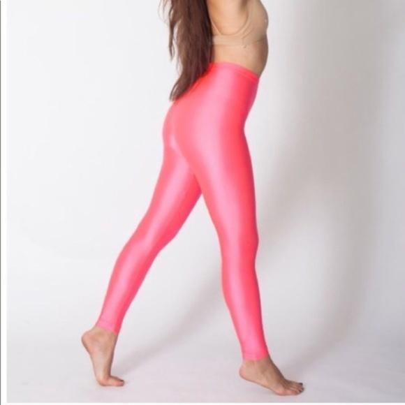 83bba635e5f6f American Apparel Pants - American Apparel Neon Pink Legging